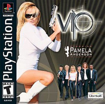 VIP starring Pamela Anderson (Playstation 1) Pre-Owned: Game, Manual, and Case