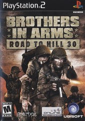 Brothers in Arms Road to Hill 30 (Playstation 2 / PS2) Pre-Owned: Game, Manual, and Case