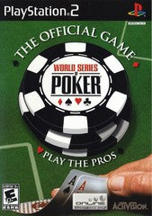 World Series of Poker (Playstation 2 / PS2) Pre-Owned: Game and Case