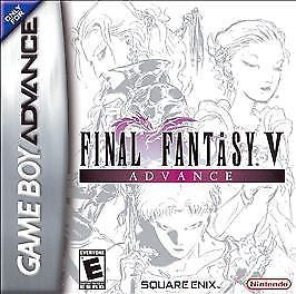 Final Fantasy V 5 Advance (Nintendo Game Boy Advance) Pre-Owned: Cartridge Only
