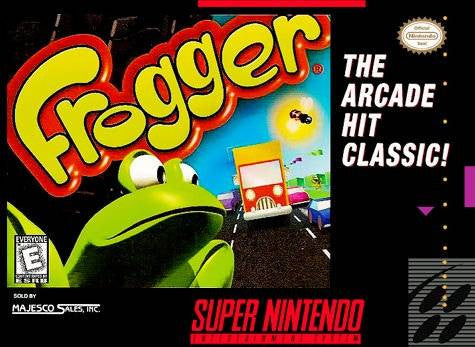 Frogger (Super Nintendo / SNES Game) Pre-Owned - Cartridge Only 1
