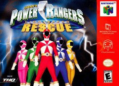 Power Rangers Lightspeed Rescue (Saban's) (Nintendo 64 / N64) Pre-Owned: Cartridge Only