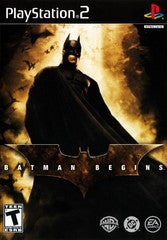 Batman Begins (Playstation 2 / PS2) Pre-Owned: Game and Case