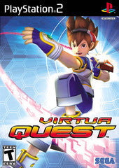 Virtua Quest (Playstation 2 / PS2) Pre-Owned: Game, Manual, and Case