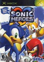 Sonic Heroes (Xbox) Pre-Owned: Game, Manual, and Case