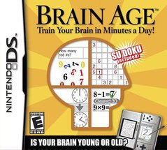 Brain Age (Nintendo DS) Pre-Owned: Cartridge Only