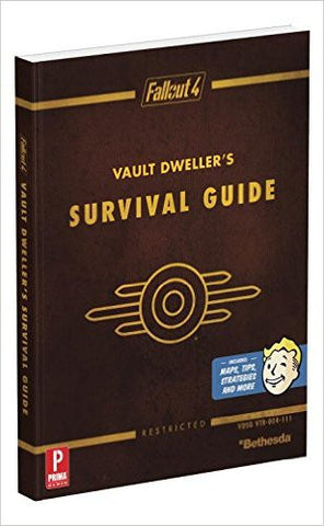 Fallout 4 Vault Dweller's Survival Guide: Prima Official Game Guide (Strategy Guide) NEW