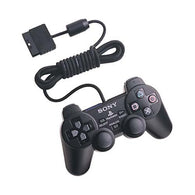 Official SONY Wired Dualshock 2 Analog Controller - Black (Playstation 2 Accessory) Pre-Owned