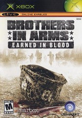 Brothers in Arms Earned in Blood (Xbox) Pre-Owned: Game, Manual, and Case