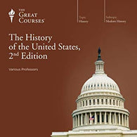 The Great Courses: History - Modern History - The History of the United States, 2nd Edition - Volume 3 ONLY (Audio CD) Pre-Owned