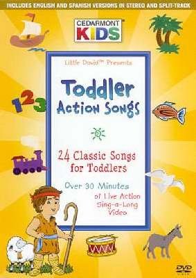 Cedarmont Kids - Toddler Action Songs (DVD) Pre-Owned