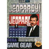 Jeopardy (Sega Game Gear) Pre-Owned: Cartridge Only