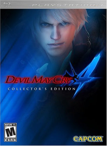 Devil May Cry 4 Collector's Edition (Playstation 3 / PS3) Pre-Owned: Game, Manual, Bonus Disc, Animated Series Episode Disc, Metal Case, and Slipcover