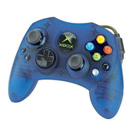 Official Microsoft Wired S-Controller - Blue (Xbox Accessory) Pre-Owned