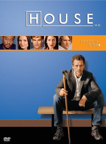 House, M.D.: Season 1 (2004) (DVD / Season) Pre-Owned: Discs, Case, and Box