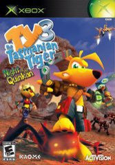 Ty the Tasmanian Tiger 3 Night of the Quinkan (Xbox) Pre-Owned: Game, Manual, and Case