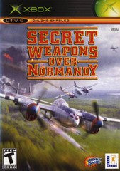 Secret Weapons Over Normandy (Xbox) Pre-Owned: Game, Manual, and Case