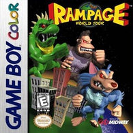 Rampage: World Tour (Nintendo Game Boy Color) Pre-Owned: Cartridge Only*