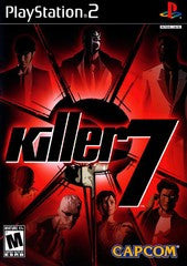 Killer 7 (Playstation 2 / PS2) Pre-Owned: Game, Manual, and Case