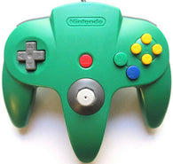 Official Nintendo Wired Controller - Green (Nintendo 64 Accessory) Pre-Owned