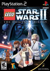 LEGO Star Wars II Original Trilogy (Playstation 2 / PS2) Pre-Owned: Game and Case