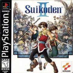 Suikoden II (Playstation 1) Pre-Owned: Game, Manual, and Case