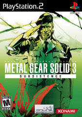 Metal Gear Solid 3 Subsistence (Playstation 2) Pre-Owned: Game, Manual, and Case