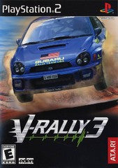 V-Rally 3 (Playstation 2 / PS2) Pre-Owned: Game, Manual, and Case