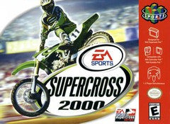 Supercross 2000 (Nintendo 64 / N64) Pre-Owned: Cartridge Only