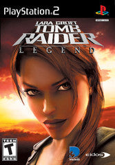 Tomb Raider Legend (Playstation 2 / PS2) Pre-Owned: Game, Manual, and Case