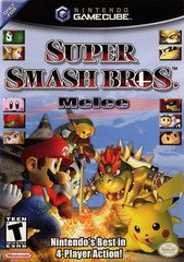 Super Smash Bros. Melee (Nintendo GameCube) Pre-Owned: Game, Manual, and Case