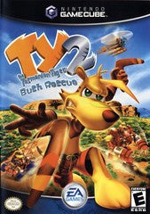 Ty The Tasmanian Tiger 2: Bush Rescue (Nintendo GameCube) Pre-Owned: Game, Manual, and Case