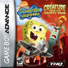 SpongeBob SquarePants Creature from Krusty Krab (Nintendo Game Boy Advance) Pre-Owned: Game, Manual, and Box