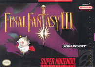 Final Fantasy III (Super Nintendo / SNES) Pre-Owned: Cartridge Only