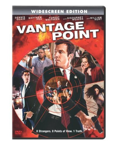 Vantage Point (2008) (DVD Movie) Pre-Owned: Disc(s) and Case