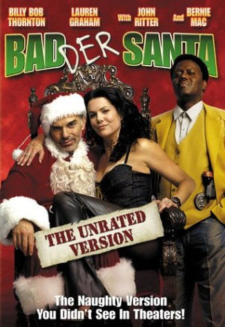 Badder Santa (Unrated Widescreen Edition) (2003) (DVD Movie) Pre-Owned: Disc(s) and Case