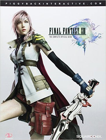 Final Fantasy 13 XIII: Complete Official Guide (Piggyback) - Pre-Owned