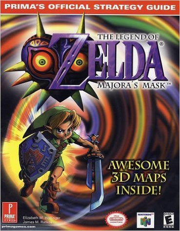 The Legend of Zelda: Majora's Mask (Prima's Official Strategy Guide) Pre-Owned