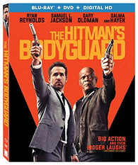 The Hitman's Bodyguard (Blu Ray Only) Pre-Owned: Disc and Case