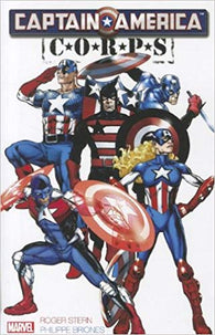 Captain America Corps (Graphic Novel) (Paperback) Pre-Owned