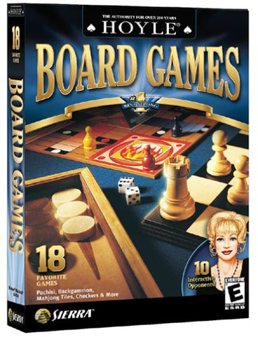 Hoyle Board Games 2003 (PC Game) Pre-Owned: Game, Manual, Case and Box