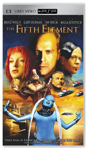 The Fifth Element (PSP UMD Movie) Pre-Owned: Disc and Case