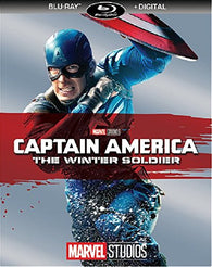 Captain America: The Winter Soldier (Blu Ray) Pre-Owned