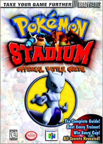 POKEMON STADIUM - Official Battle Guide (BradyGames Strategy Guide) - Pre-Owned