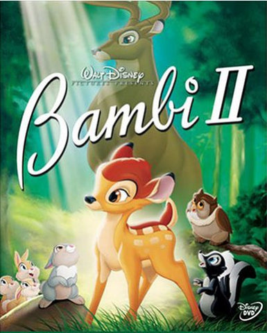 Bambi II (DVD) Pre-Owned