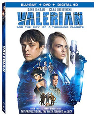 Valerian and the City of A Thousand Planets (Blu Ray Only) Pre-Owned: Disc and Case