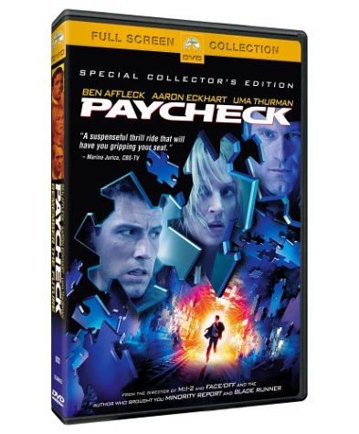 Paycheck (DVD) Pre-Owned