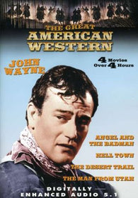 The Great American Western: (The Man from Utah / Hell Town / The Desert Trail / Angel and the Badman) (DVD) Pre-Owned
