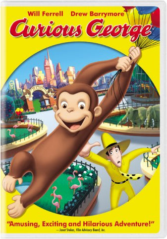 Curious George (DVD) Pre-Owned