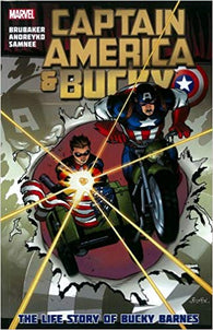 Captain America and Bucky: The Life Story of Bucky Barnes (Graphic Novel) (Hardcover) Pre-Owned